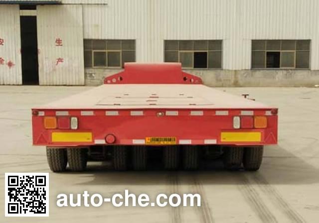 鑫凯达牌DLZ9400TDP低平板半挂车