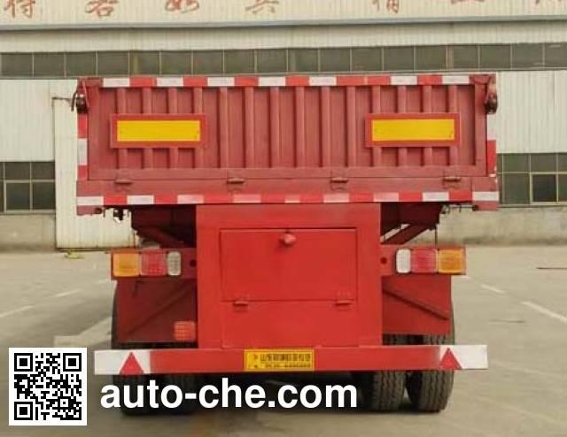 鑫凯达牌DLZ9400Z自卸半挂车
