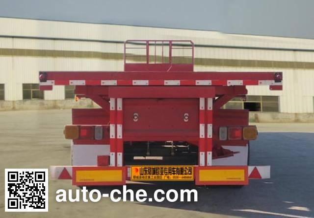 Xinkaida DLZ9401ZZXP flatbed dump trailer