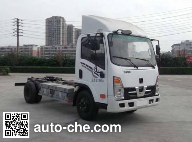 Jialong DNC1070BEVJ01 electric truck chassis