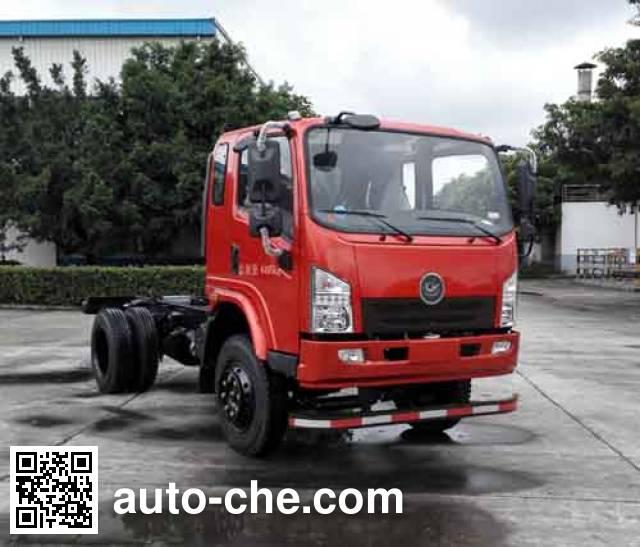 Jialong DNC3040GJ-50 dump truck chassis