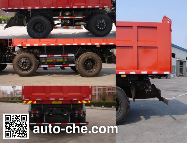 Jialong DNC3166GN-50 dump truck