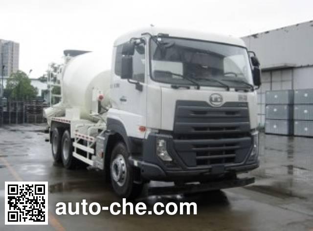 优迪卡牌DND5250GJBWA37混凝土搅拌运输车