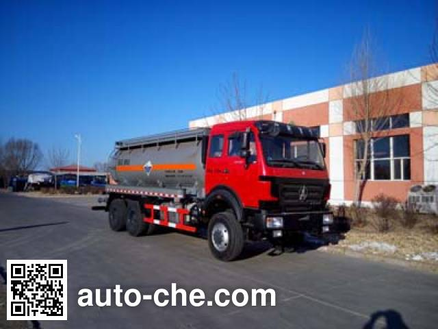 Yetuo DQG5252GFW corrosive substance transport tank truck