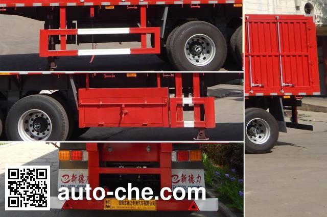 Deshuai DSP9380XXY box body van trailer
