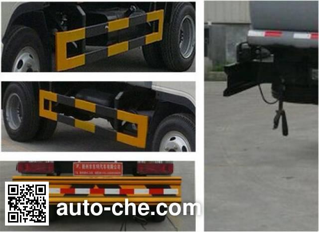 Teyun DTA5070GRY flammable liquid tank truck