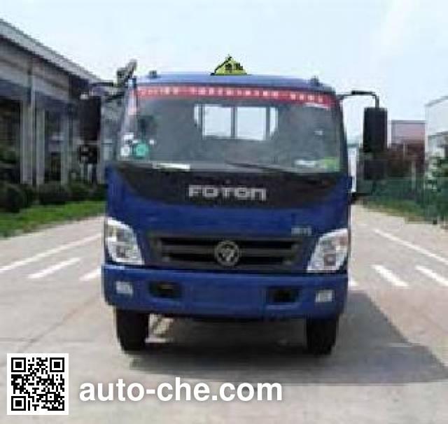 Teyun DTA5120GFWBJ5 corrosive substance transport tank truck