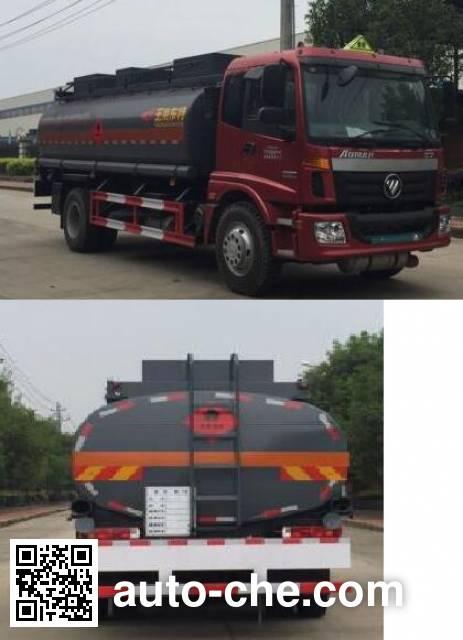 Teyun DTA5160GRYB4 flammable liquid tank truck