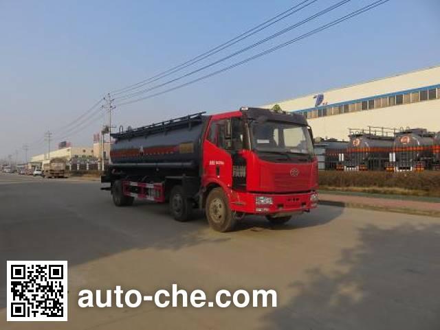Teyun DTA5250GFWCA5 corrosive substance transport tank truck