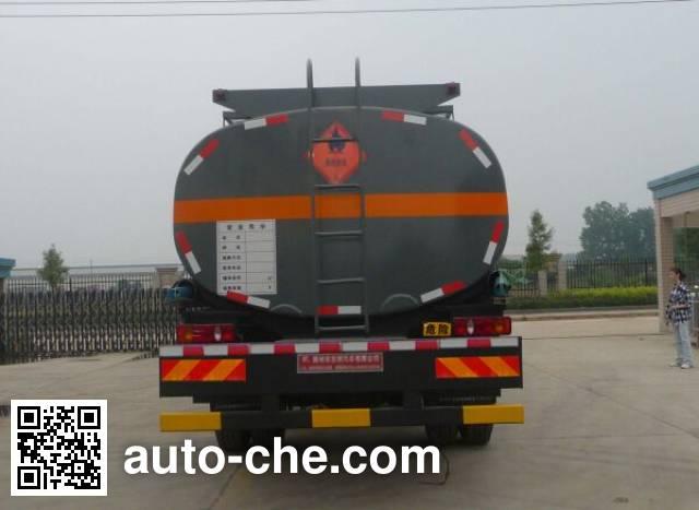Teyun DTA5253GRYDH flammable liquid tank truck