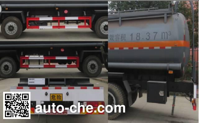 Teyun DTA5310GFWB5A corrosive substance transport tank truck