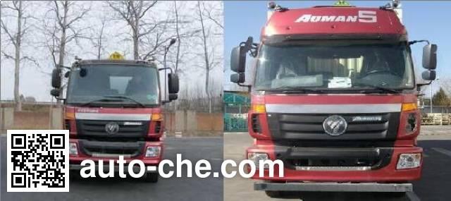 Teyun DTA5310GFWB5 corrosive substance transport tank truck