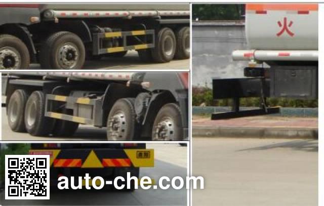Teyun DTA5310GHY chemical liquid tank truck