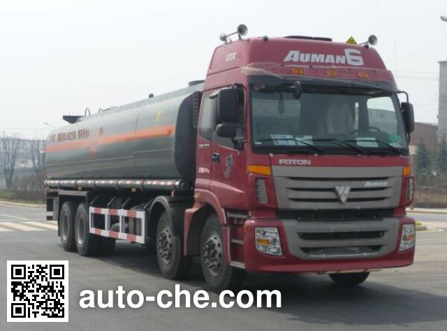 Teyun DTA5310GHYB chemical liquid tank truck