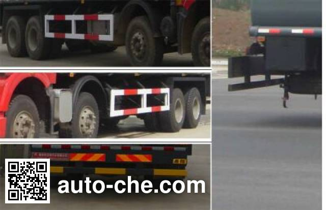 Teyun DTA5310GHYCJ6 chemical liquid tank truck