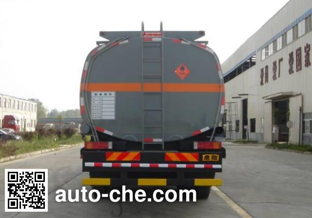 Teyun DTA5310GHYD chemical liquid tank truck