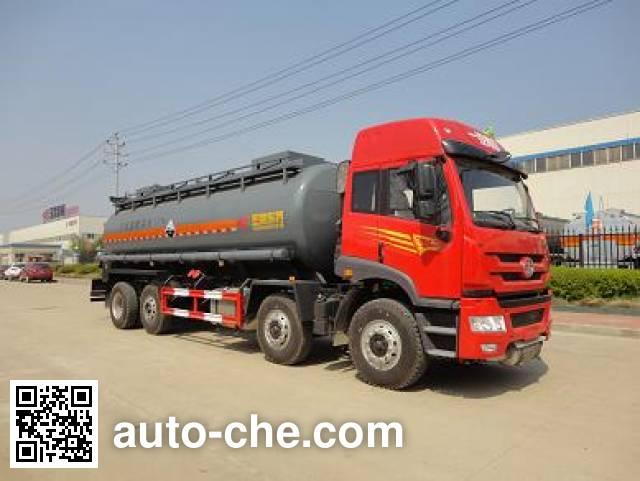 Teyun DTA5311GFWCA5 corrosive substance transport tank truck