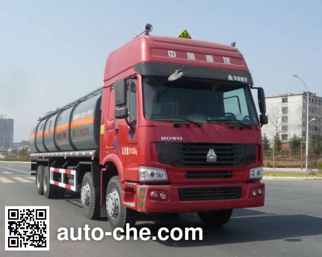 Teyun DTA5311GHYZZ chemical liquid tank truck