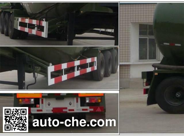 Teyun DTA9400GFL low-density bulk powder transport trailer