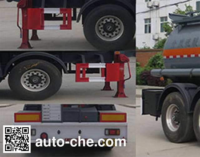 Teyun DTA9400GFW corrosive materials transport tank trailer