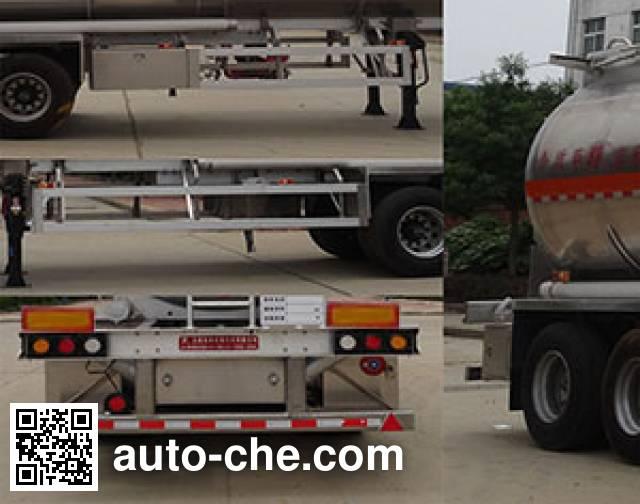 Teyun DTA9401GRYA flammable liquid tank trailer