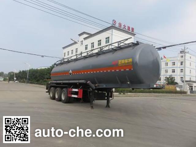 Teyun DTA9403GFWA corrosive materials transport tank trailer