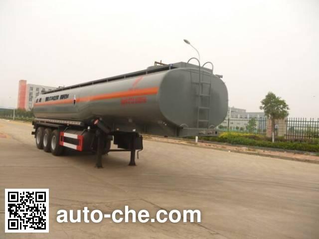 特运牌DTA9403GFW腐蚀性物品罐式运输半挂车
