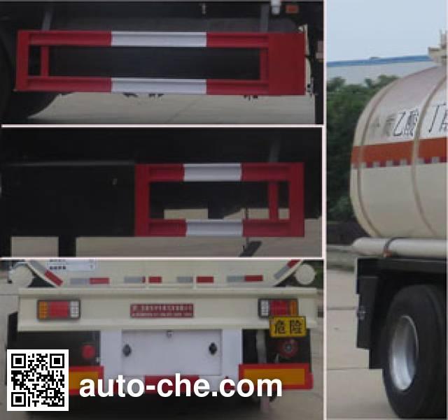 Teyun DTA9405GRYA flammable liquid tank trailer