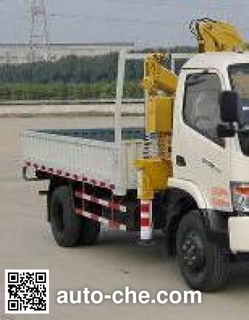 大运牌DYQ5040JSQD5AB随车起重运输车
