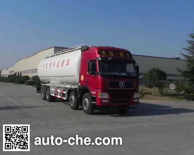 Dayun DYX5310GFLD4XDA low-density bulk powder transport tank truck