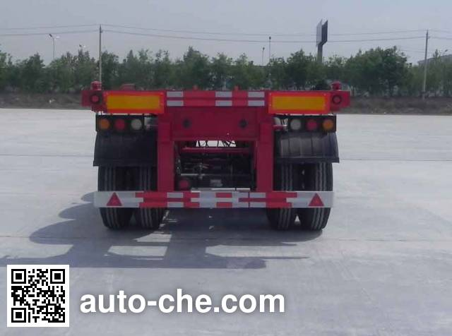 大运牌DYX9400TJZ347集装箱运输半挂车