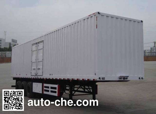 Dayun DYX9400X368A box body van trailer