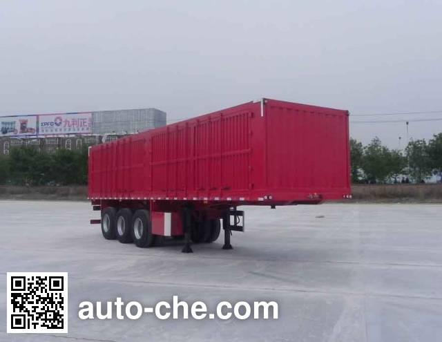 Dayun DYX9400XXY347 box body van trailer