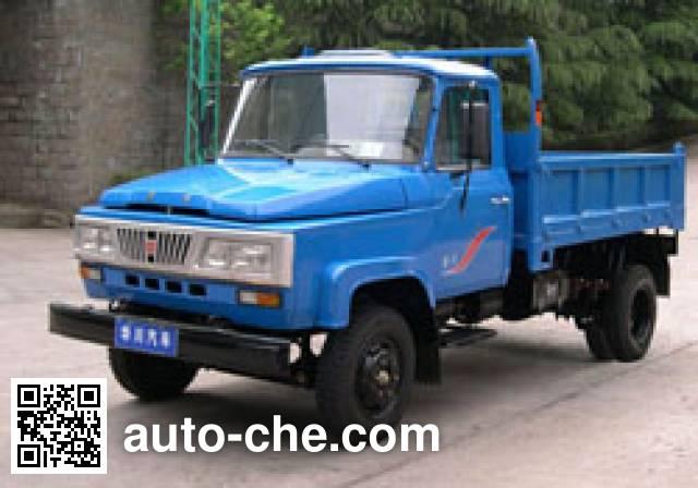 华川牌DZ2810CD1自卸低速货车