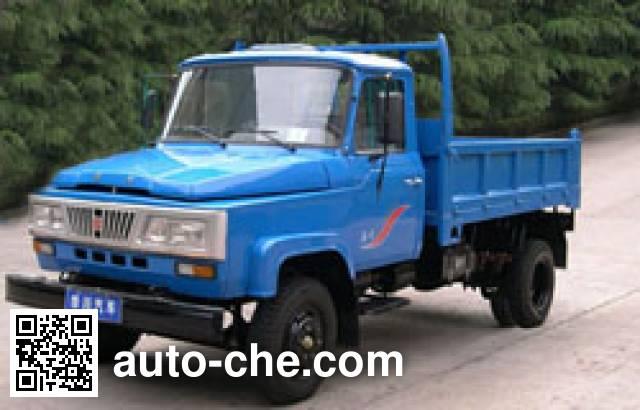 华川牌DZ4010CD2自卸低速货车