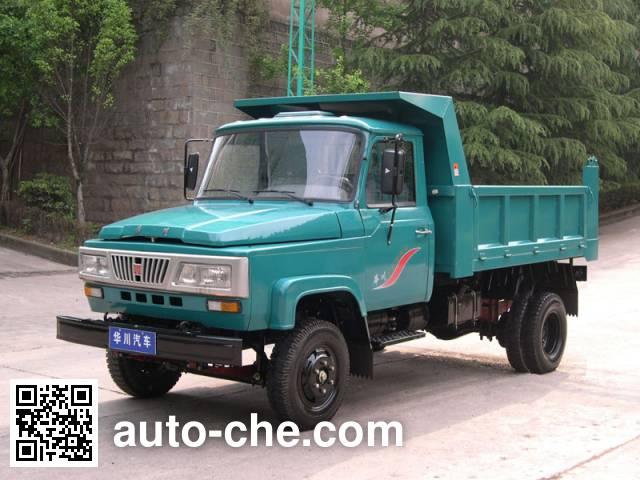 华川牌DZ4010CD1T自卸低速货车