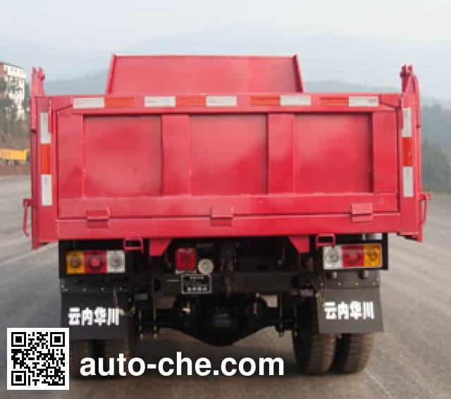 Huachuan DZ4010PDT low-speed dump truck