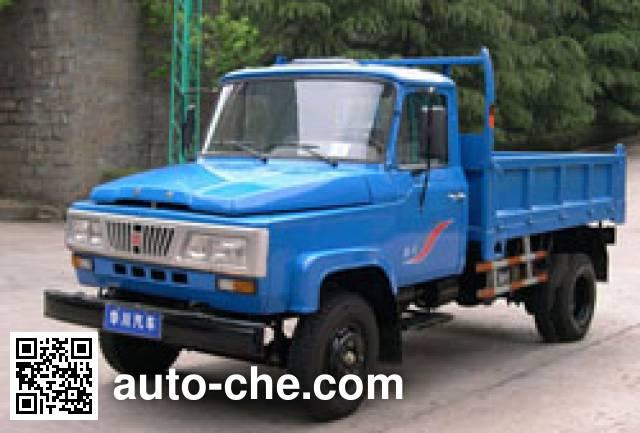 华川牌DZ5815CD1自卸低速货车
