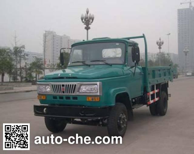 华川牌DZ5815CD2T自卸低速货车