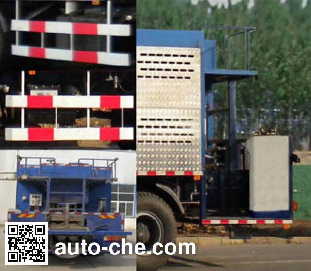 Ouya EA5316TFCNR366 slurry seal coating truck