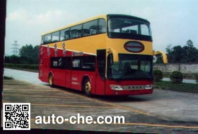 峨嵋牌EM6126HS双层豪华客车