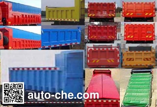 Dongfeng EQ3160GFV1 dump truck