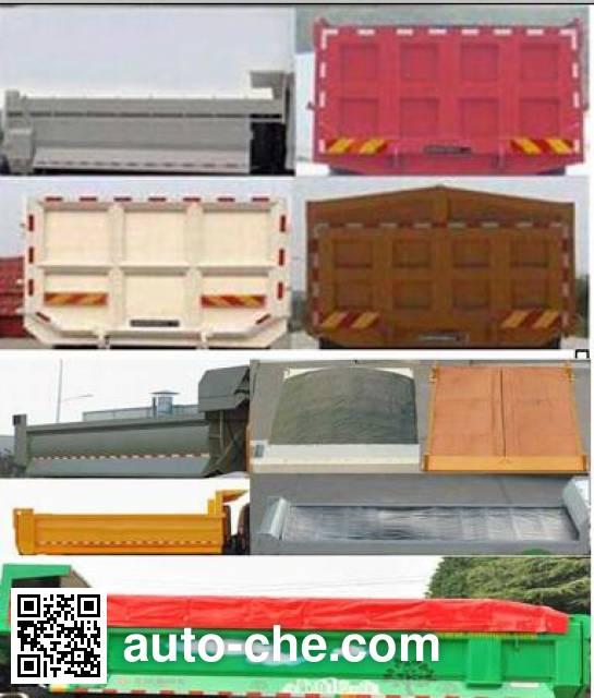 Dongfeng EQ3250GD5D2 dump truck