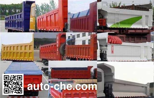 Dongfeng EQ3310GZ5D4 dump truck
