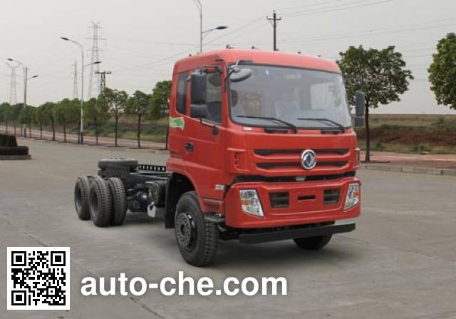 Dongfeng EQ3250VFVJ dump truck chassis