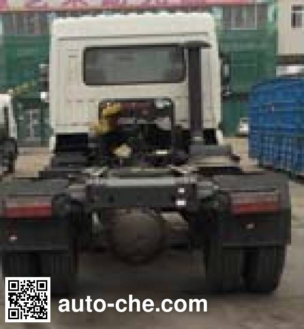 Dongfeng EQ4180GD5D1 dangerous goods transport tractor unit