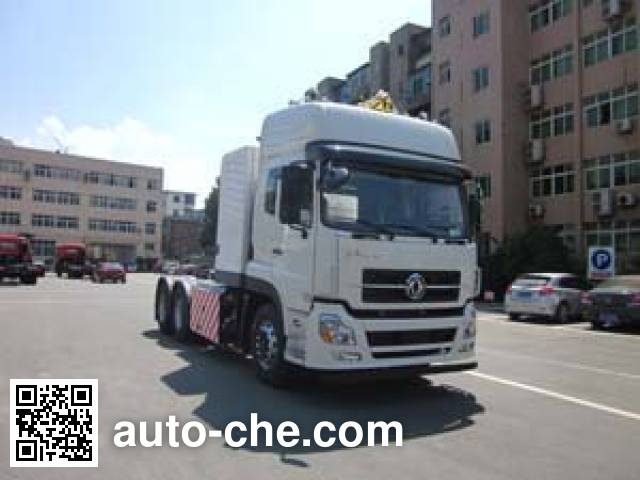 Dongfeng EQ4250GD5N4 dangerous goods transport tractor unit