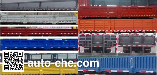 Dongfeng EQ5100JSQZMV truck mounted loader crane