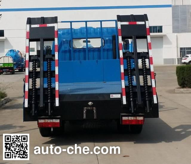 东风牌EQ5040TPB平板运输车