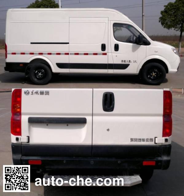 东风牌EQ5041XXYACBEV7纯电动厢式运输车